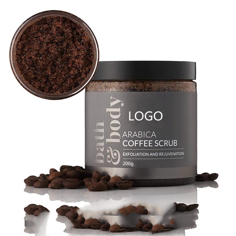 Orgnic Coffee Body Scrub For Low MOQ 3 Pcs