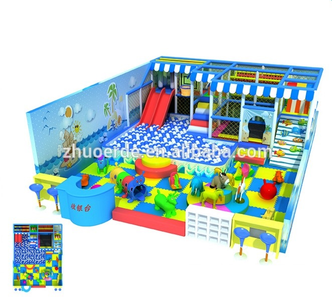 Plastic Kids Playhouse Children Play House Indoor Playground equipment