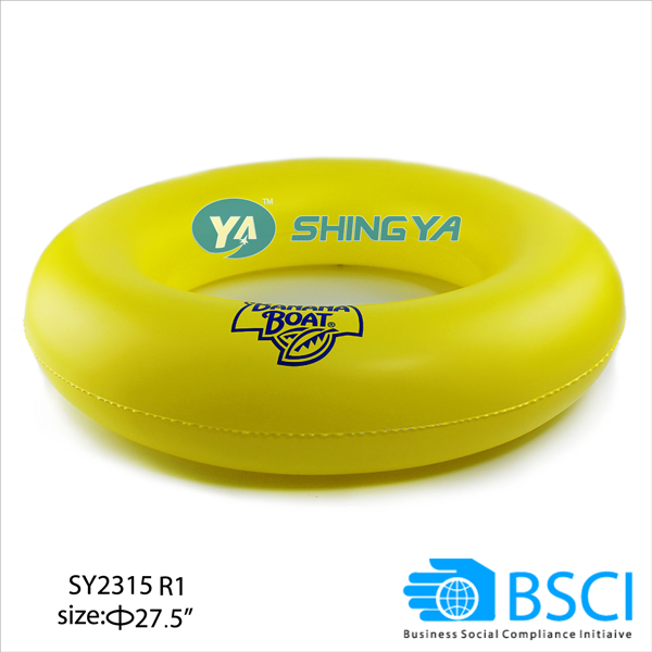 Customized cheap kids summer inflatable swimming ring