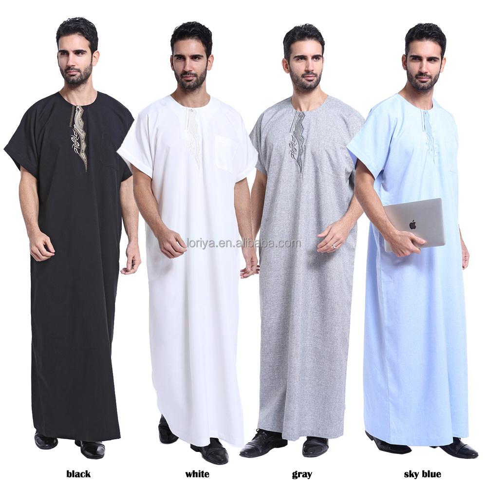 Modern Muslim Men Jubah Fashion Men Abaya - Buy Men Abaya,Men Thobe,Men  Muslim Dress Product on Alibaba.com