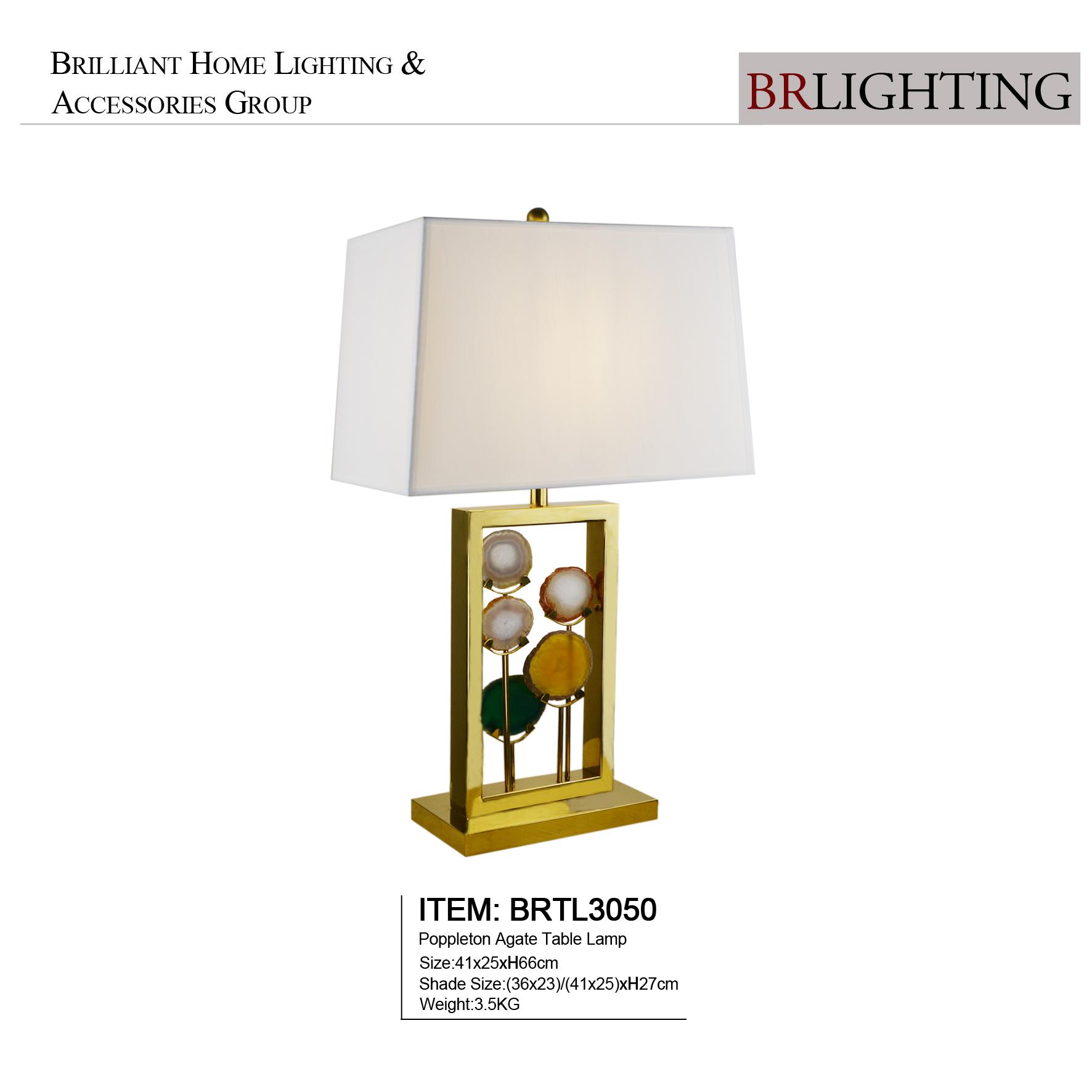 Уникальный дизайн, роскошная настольная лампа Brlighting из агата для прикроватного столика отеля