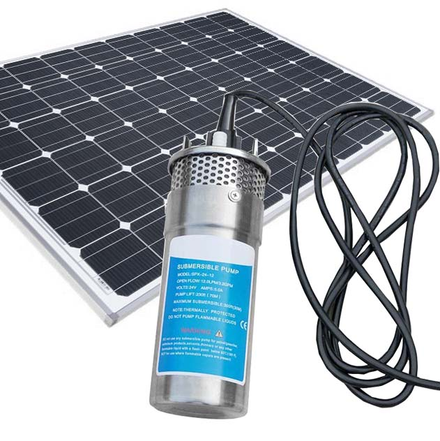 Jetmaker YM1260-30 Solar Water Pump Deep Well Submersible Solar Water Pump For Irrigation