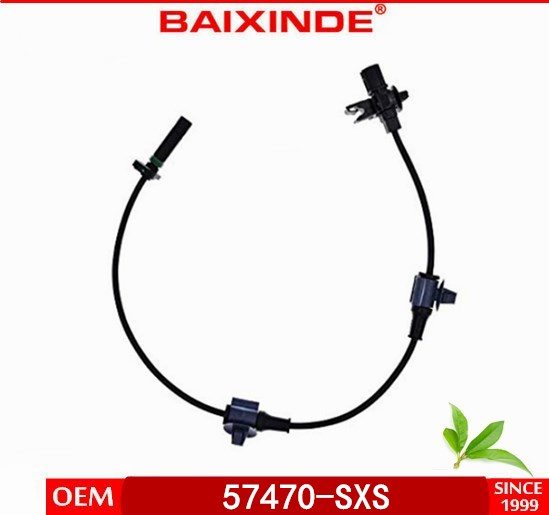 BAIXINDE Auto Sensor Harness Rear Right ABS Wire Wheel Speed Sensor 57470-SXS-003 57475-SXS-013 for Car