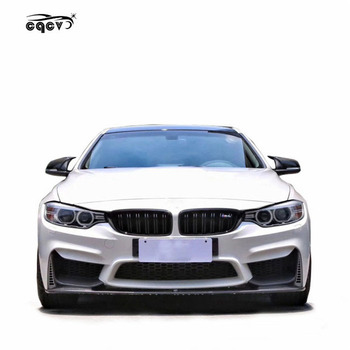 Plastic material M4 style body kit for BMW 4 series F32 F33 F36 420i 428i front bumper rear bumper side skirts and wing spoiler