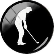 Круглая фотокартина TAFREE для спорта, 25 мм, для рукоделия, каношона, тяжелой атлетики, гольфа, серфинга, бадминтона, катания на коньках, аксессу...(Китай)