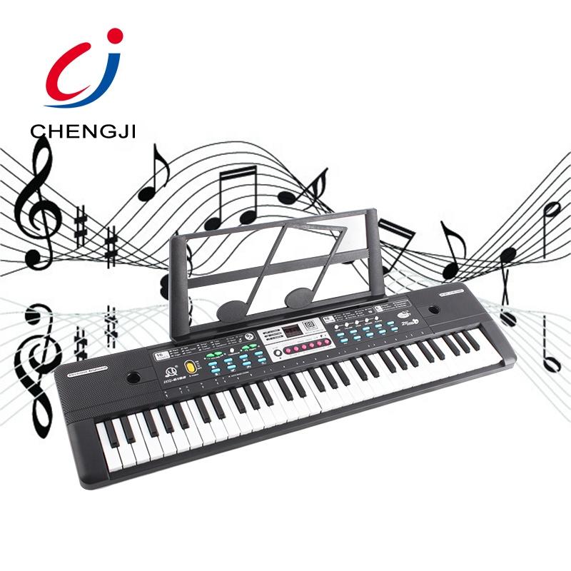 Kids learn 61 keys multifunctional electronic organ keyboard toy with microphone
