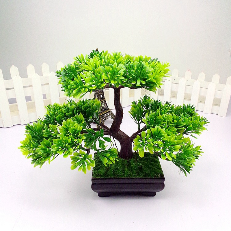 Artificial Trees Home Decor: Aliexpress.com : Buy 1pc Welcoming Pine Emulate Bonsai