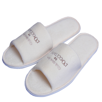 Different Styles Of Close Toe/Open Toe Cheap Hotel Slippers