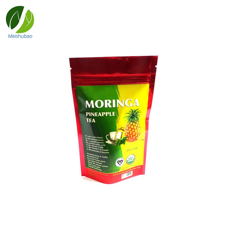 Organic private label flat tummy tea slimming tea moringa tea remove obesity - 4uTea   4uTea.com