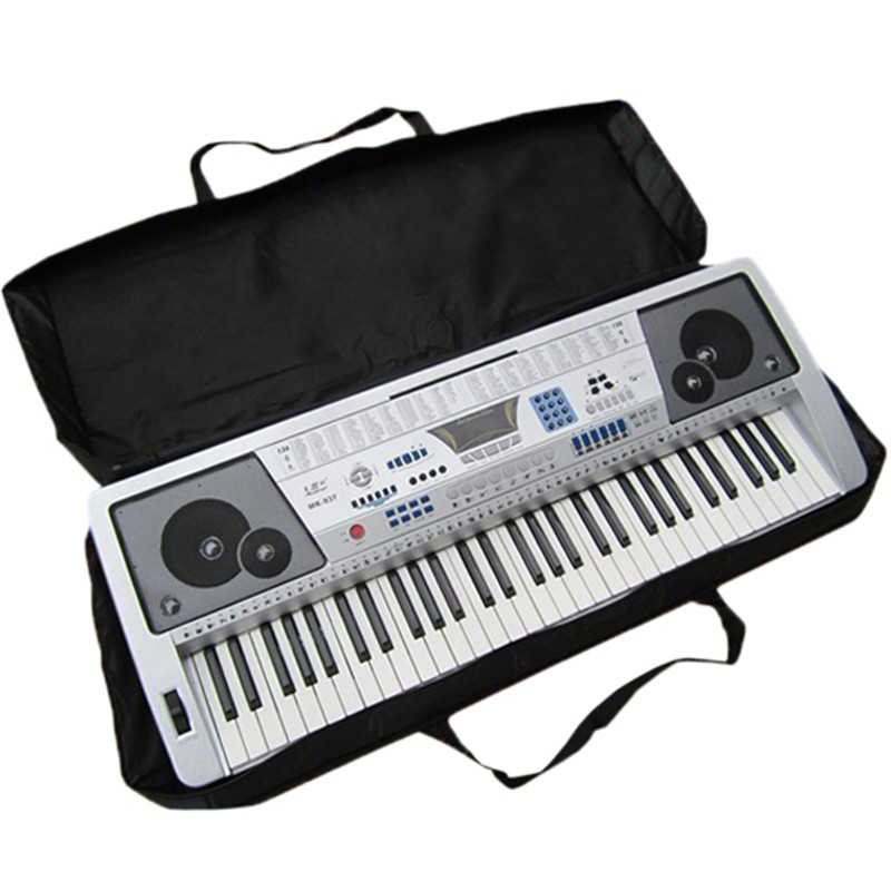 high quality black 61 key piano keyboard case bag electronic music carry oxford cloth tote music. Black Bedroom Furniture Sets. Home Design Ideas
