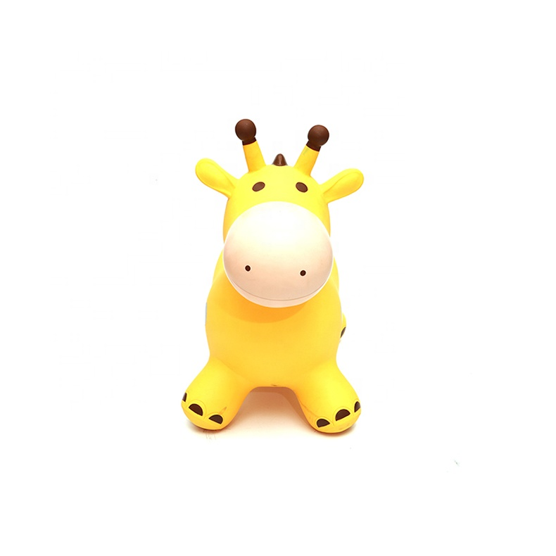 PVC giraffe Inflatable Ride On Animals Toy