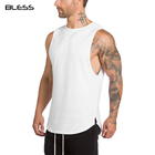 Tank Top OEM 100%cotton Fitness Stringer Mens Tank Top