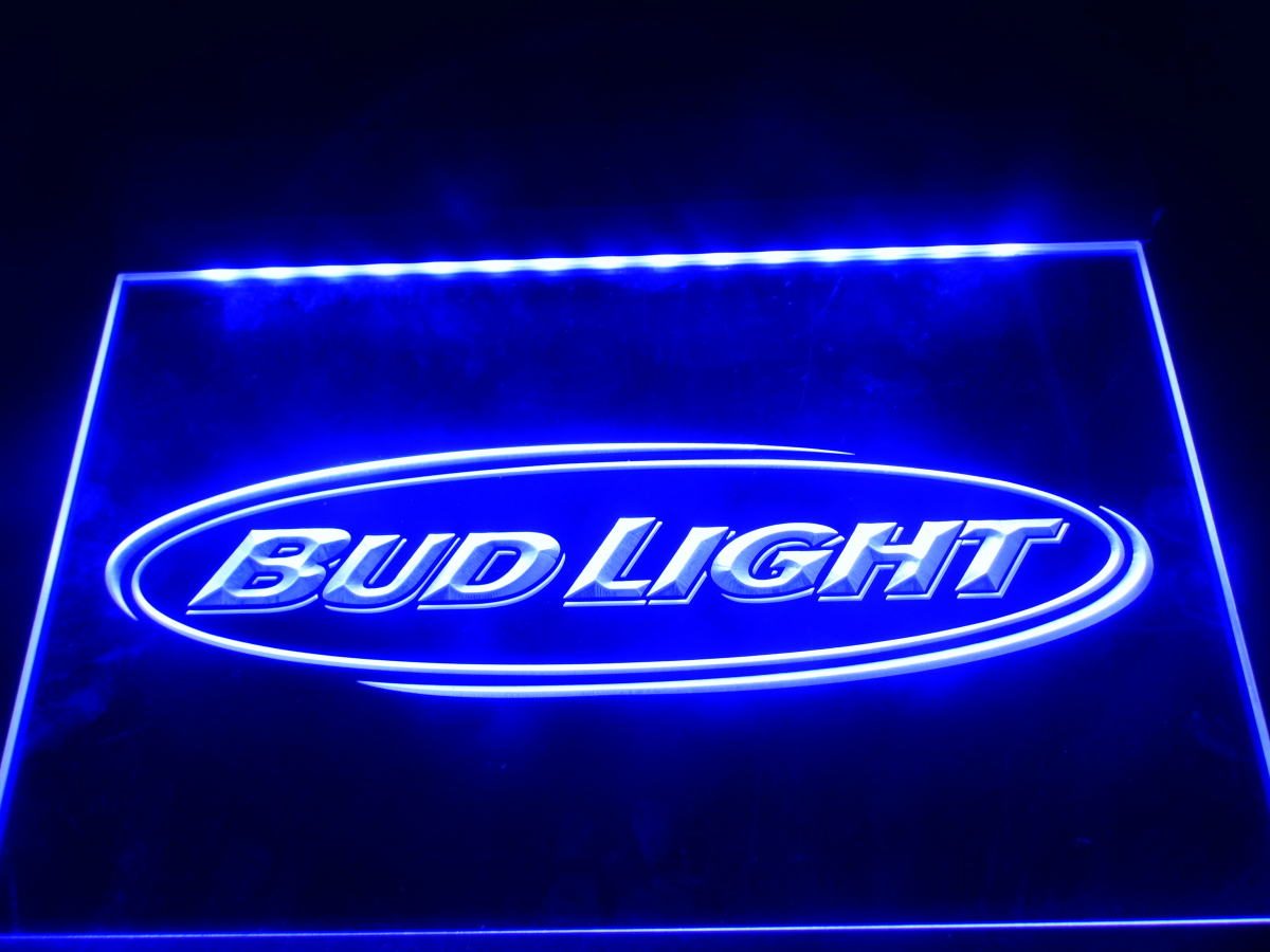 LA001 Bud Light Beer Bar Pub Club NR LED Neon Light Sign ...
