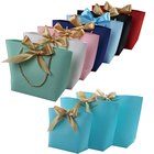 Hot selling paper corporate gift bags with logo printed customize