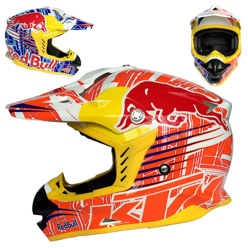 ktm motorcycle helmets motocross casque rally racing dirt. Black Bedroom Furniture Sets. Home Design Ideas