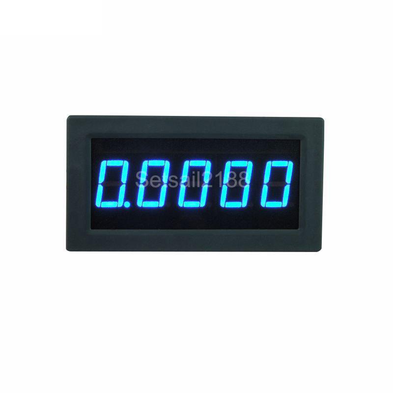 300a 3 ½ Blau LED-Digital-Amperemeter
