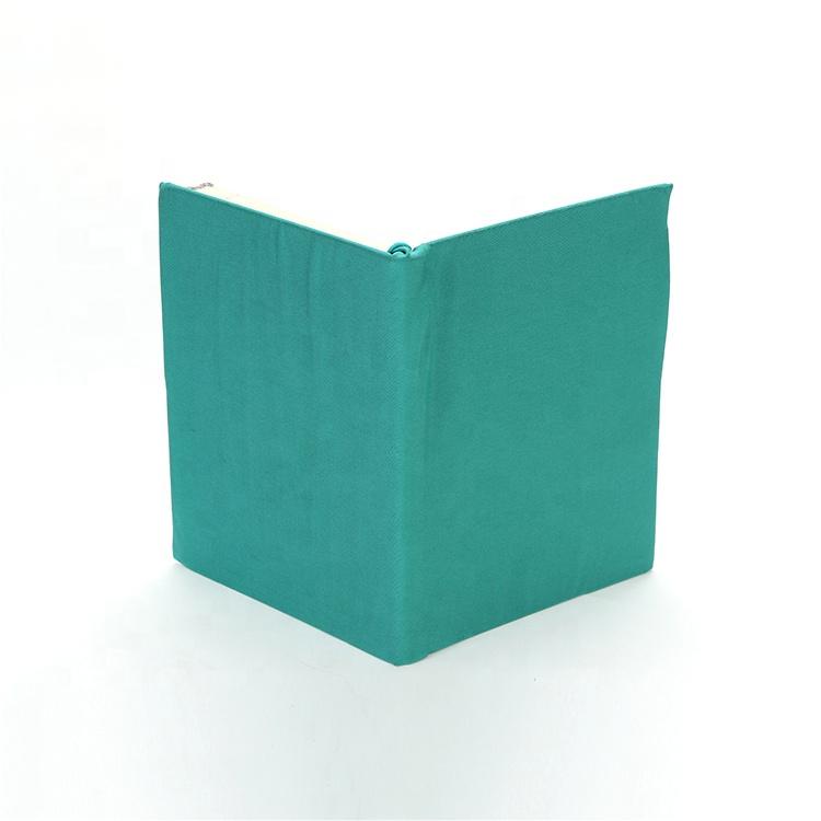Однотонный тканевый чехол-книжка A4 A5, чехол-книжка из эластичной ткани