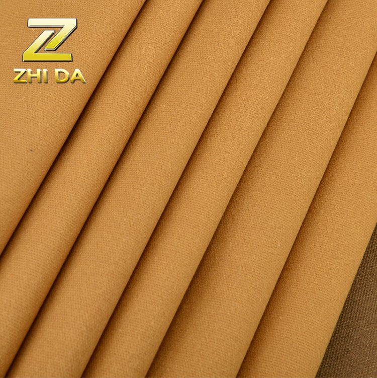 Wholesale woven cotton fabric 16oz oil waxed duck canvas water proof fabric for canvas duffle bag