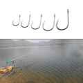 New Arrivel 100pcs Wholesalers Fishing Bait Barb Fishhook Lure Tackle With Box Size 4 6 8