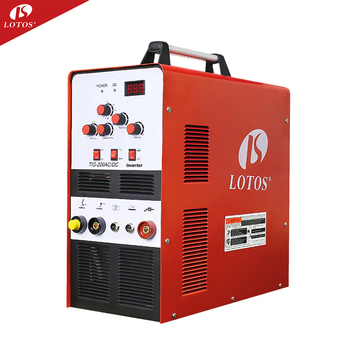 Lotos 200amp IGBT inverter ac/dc tig welder for aluminum tig-200