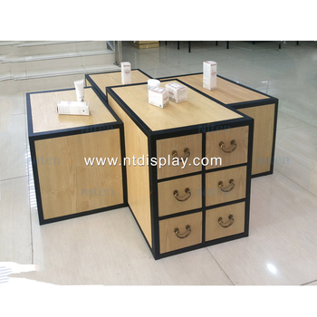 clothing furniture display counter garment shop table cosmetic display furniture
