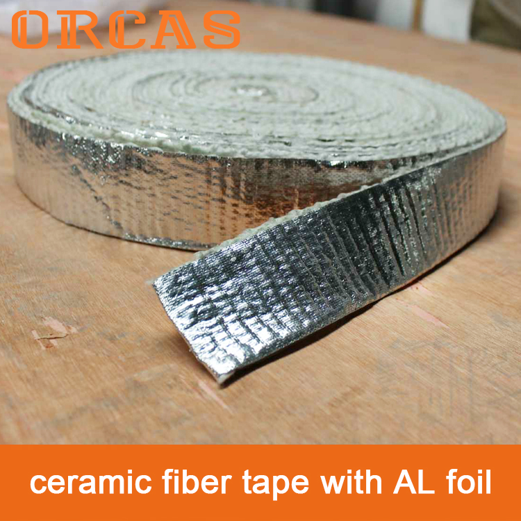 ORCAS ceramic fiber tape with aluminum foil