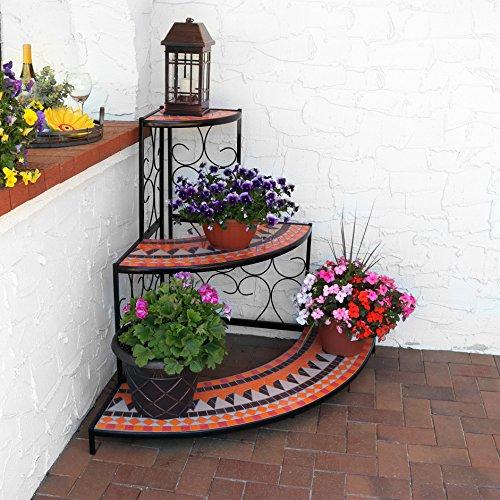 Large 3 Tier Mosaic Plant Stand Metal Corner Flower Pot Shelf Buy Mosaic Plant Stand 3 Tier Mosaic Plant Stand Corner Mosaic Plant Stand Product On Alibaba Com