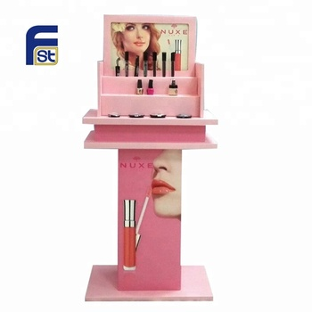 Fashion POP Cosmetics Advertisement Cardboard Display Stand