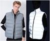 grey down vest