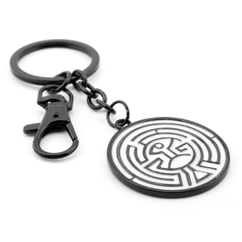 The Labyrinth inspired keychains