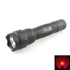 Red Light Torch UltraFire WF-502B 3W CREE XR-E Q5 Red Light 620nm LED Flashlight