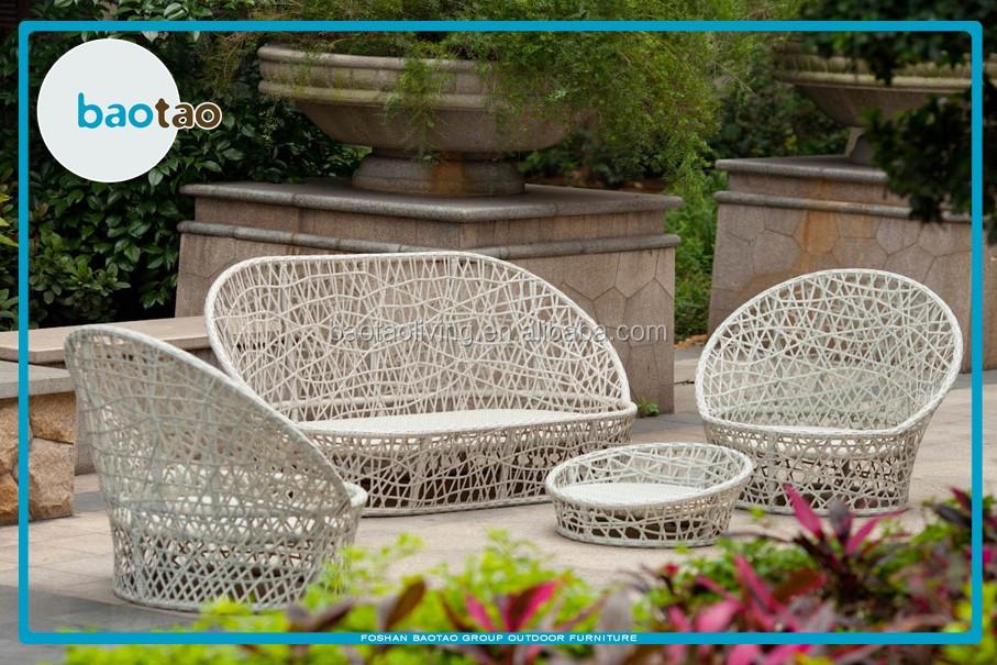 Outdoor Nice Weaving Rattan Sofa Set Garden Sofa Outdoor Furniture