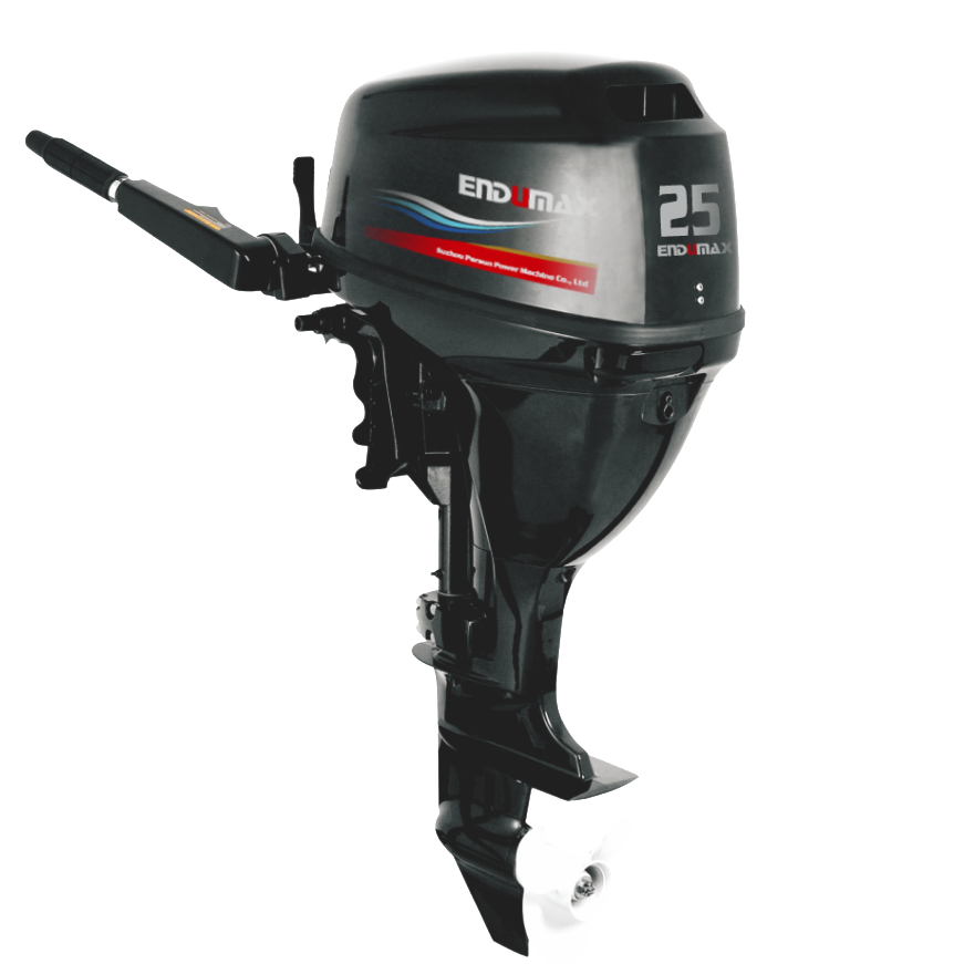 CE approved 4 stroke 25hp Endumax gasoline outboard engine for yacht use