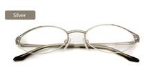 Металлическая полуоправа, оптическая оправа, очки для женщин, оправа для очков, очки для мужчин, овальные прозрачные линзы, Lunette Femme, аксессуа...(Китай)