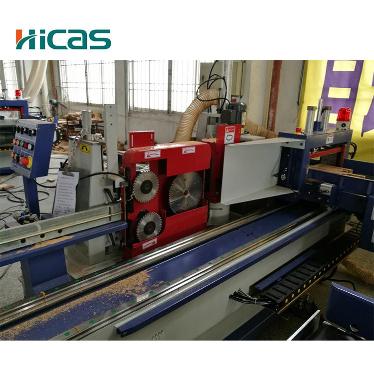 Легкая операция деревообрабатывающий палец совместная производственная линия деревянного оборудования