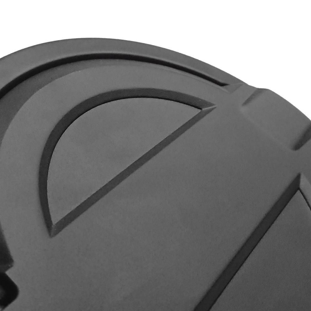 Fuel Filler Door Cover Gas Tank Cap , Off Road Car Accessories Oil Gas Petrol Fuel Tank Cap Cover