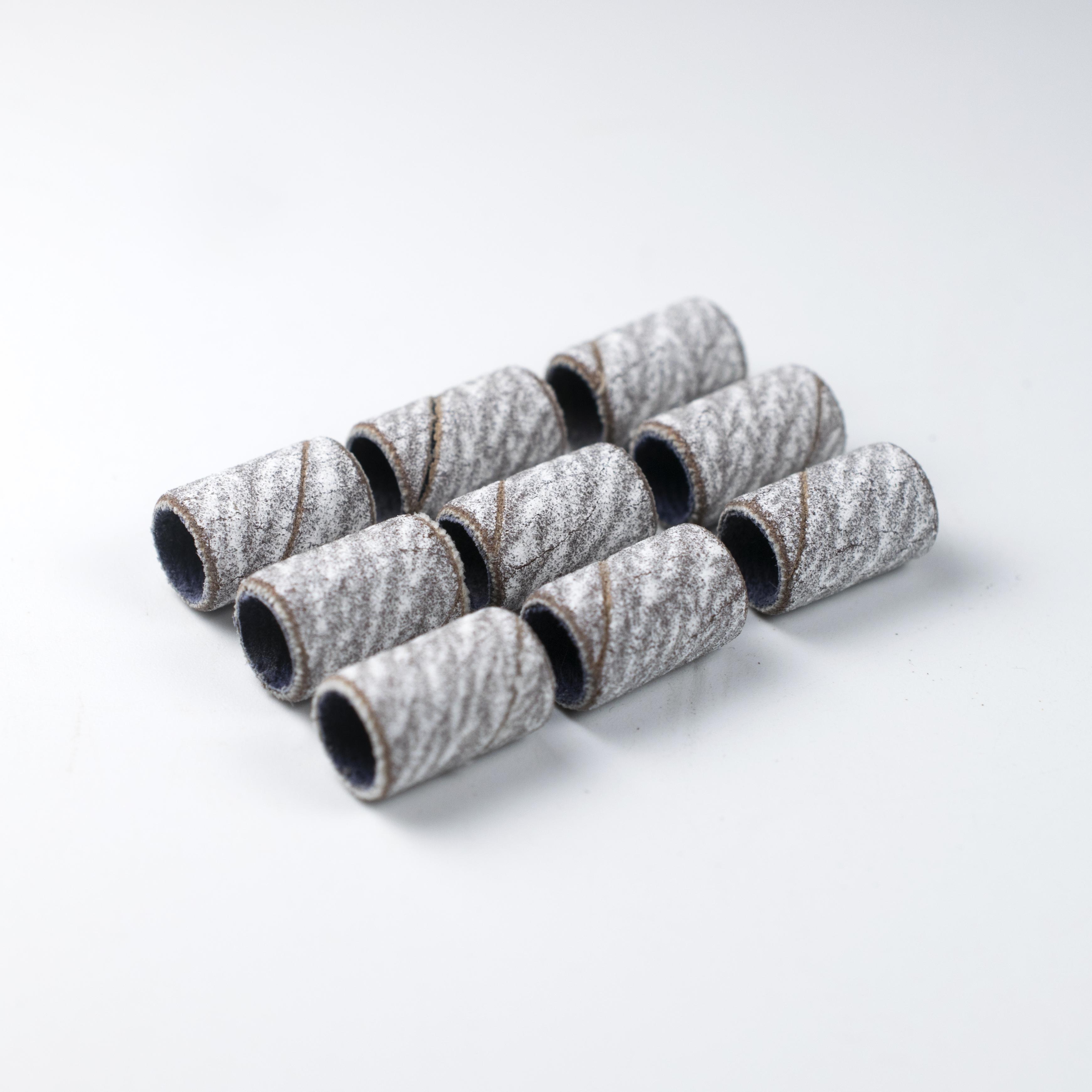 Размер #80 #120 #180 шлифовальная лента для маникюра, педикюра Сменные биты для ногтей