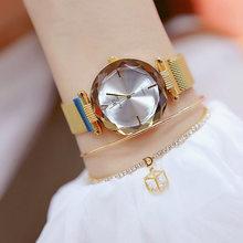 2018 Новое поступление женские часы из нержавеющей стали Известный Топ бренд кварцевые часы женские наручные часы Relogios Femininos(Китай)