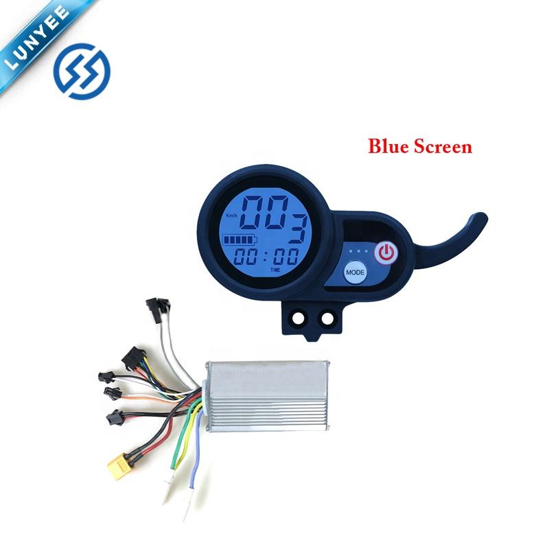 Цветной экран и синий экран контроллер Ebike 36V48V52V60V с ЖК-дисплеем