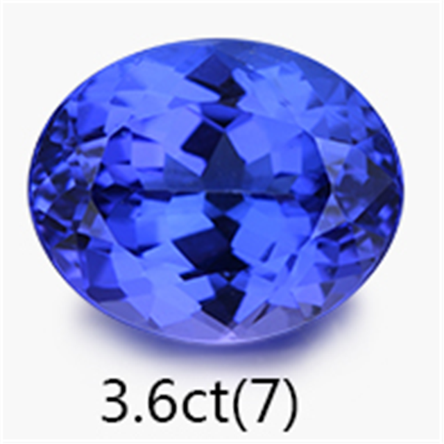 SGARIT brand natural gemstone jewelry factory wholesale 1-50ct 5A blue natural tanzanite loose gemstone