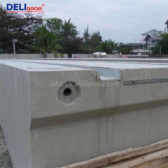 Понтон из бетона виды герметиков для наружных работ по бетону