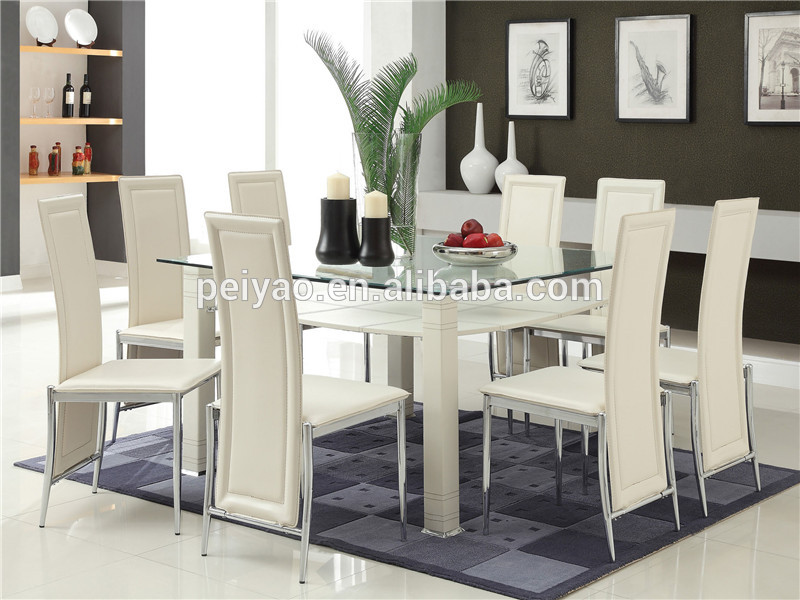 High Quality Glass Dining Table 6 Chairs Set Buy Purple Dining Table Set Malaysia Dining Table Set Glass Dining Table 6 Chairs Set Product On Alibaba Com