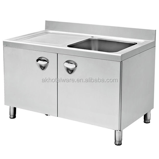 Stainless Steel Mop Sinks Wholesale Handmade Kitchen Basin Sink Free Standing Kitchen Cabinet With Single Bowl Sinks Buy Kitchen Cabinet With Sink Bowl Kitchen Basin Sink Stainless Steel Sinks Product On Alibaba Com