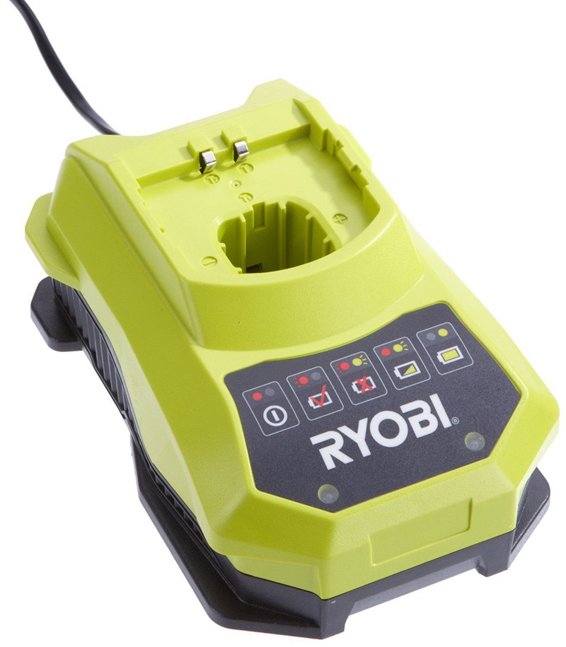 new original ryobi battery charger for ryobi 18v. Black Bedroom Furniture Sets. Home Design Ideas