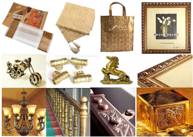 Высокочистый насыщенный Золотой медный металлический бронзовый порошок Jingxin
