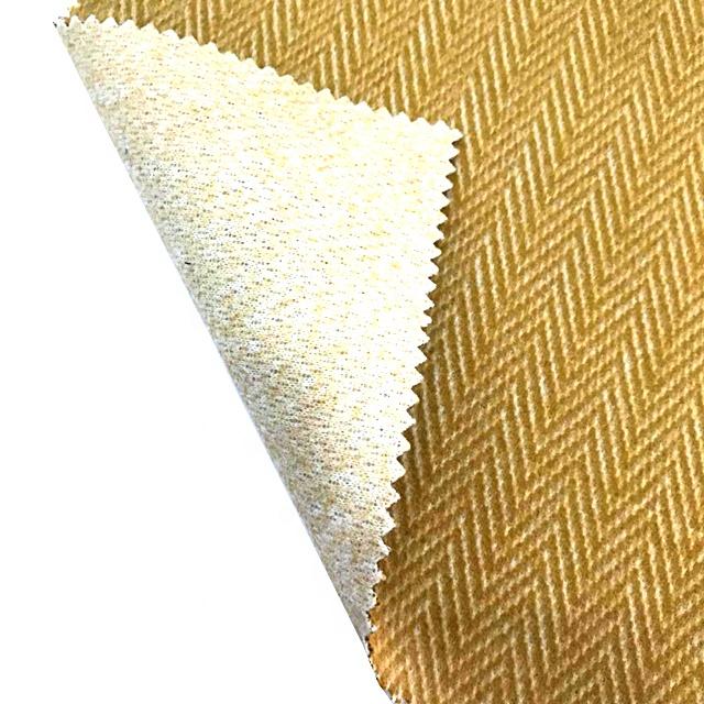 25% wool 75% acrylic Herringbone coat acrylic polyester wool fabric for overcoat