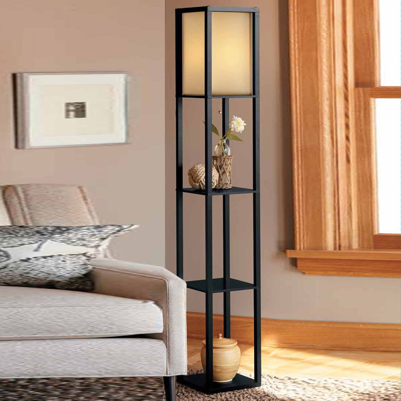 New Chinese Style Floor Lamp Lamparas De Pie Vertical