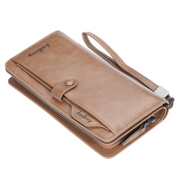 2019 New arrival Baellerry Large Capacity Business Multi-Card Driver's License mobile phone Card Holder hand bag