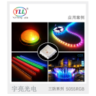 Chip Led Led Chip Epistar Chip Tri Proof 3w 5050 5055 RGB Smd Led Chip For City Outdoor Lights