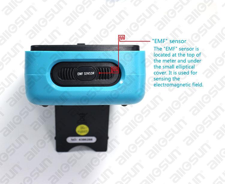 EM5511 EMF מדידת הגלאי מודד דיגיטלי